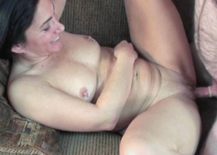 image Petite milf naomi shah is on her knees for a pov blowjob Part 10